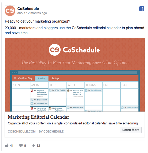 Facebook-ad-examples-value-proposition-CoSchedule