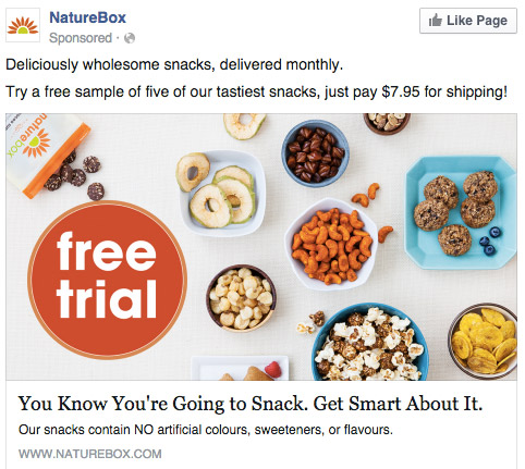 Facebook-ad-examples-value-proposition-NatureBox