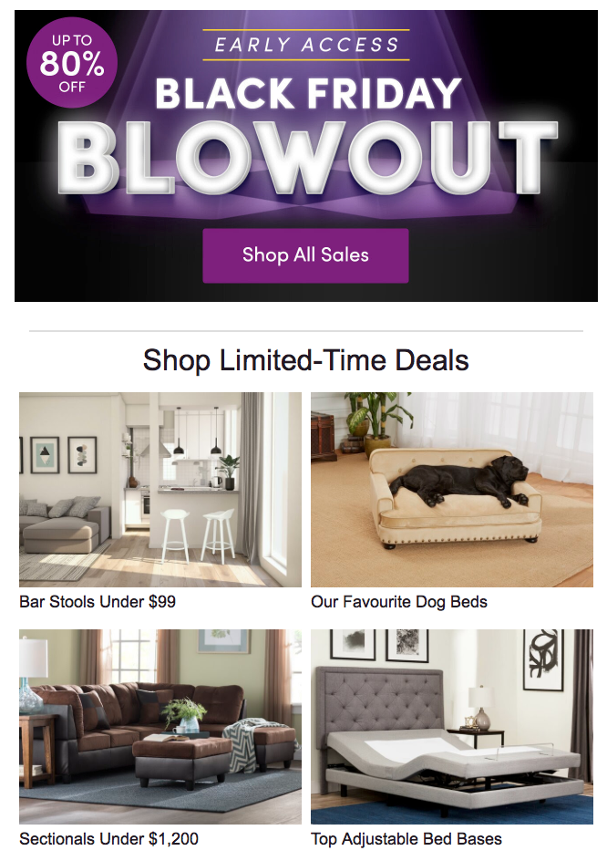 Smart-Targeting-WayFair-Email
