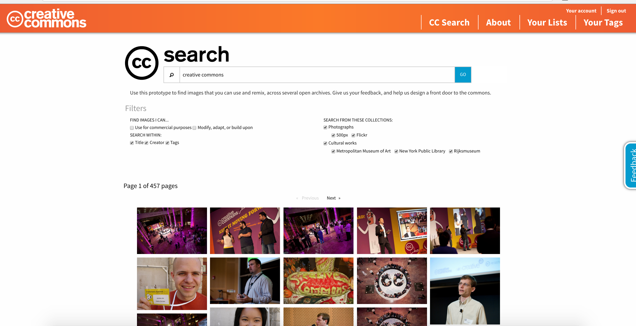 CC Search Free Images | Agency Vista