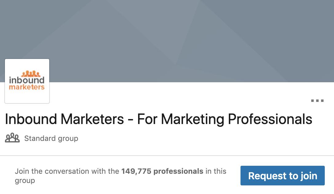 Inbound Marketers - LinkedIn Group | Agency Vista