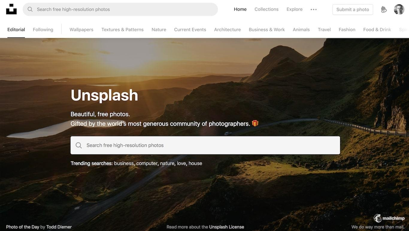 Unsplash Review Free Images | Agency Vista