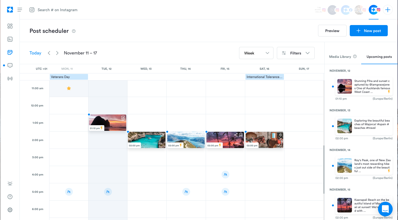 Instagram Scheduling Tools | Iconosquare | Agency Vista