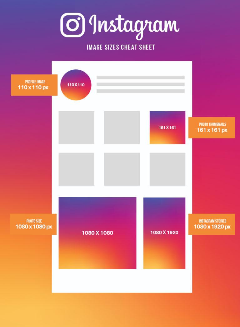 Instagram Social Media Image Size | Agency Vista