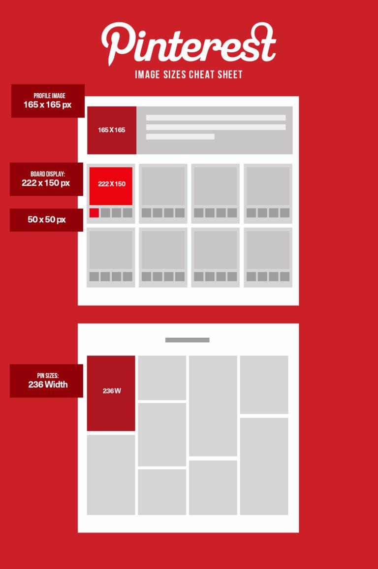 Pinterest Social Media Image Size | Agency Vista
