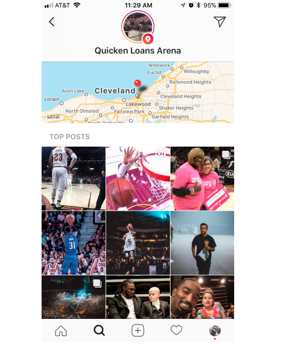 Introducing the Best Ways to Engage With Your Instagram Audience | Quicken Loans Arena | Agency Vista