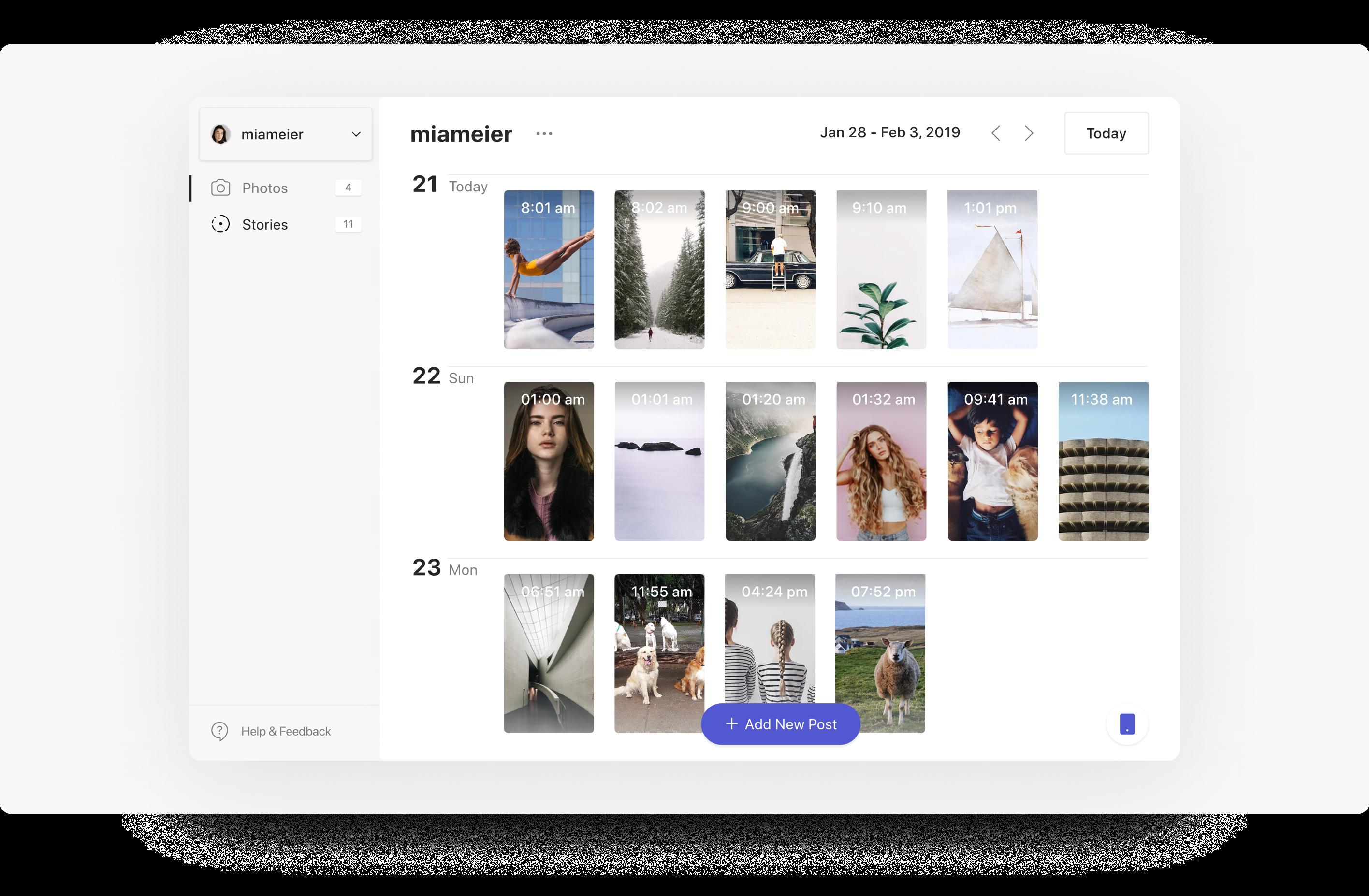 Instagram Scheduling Tools | Combin Scheduler | Agency Vista