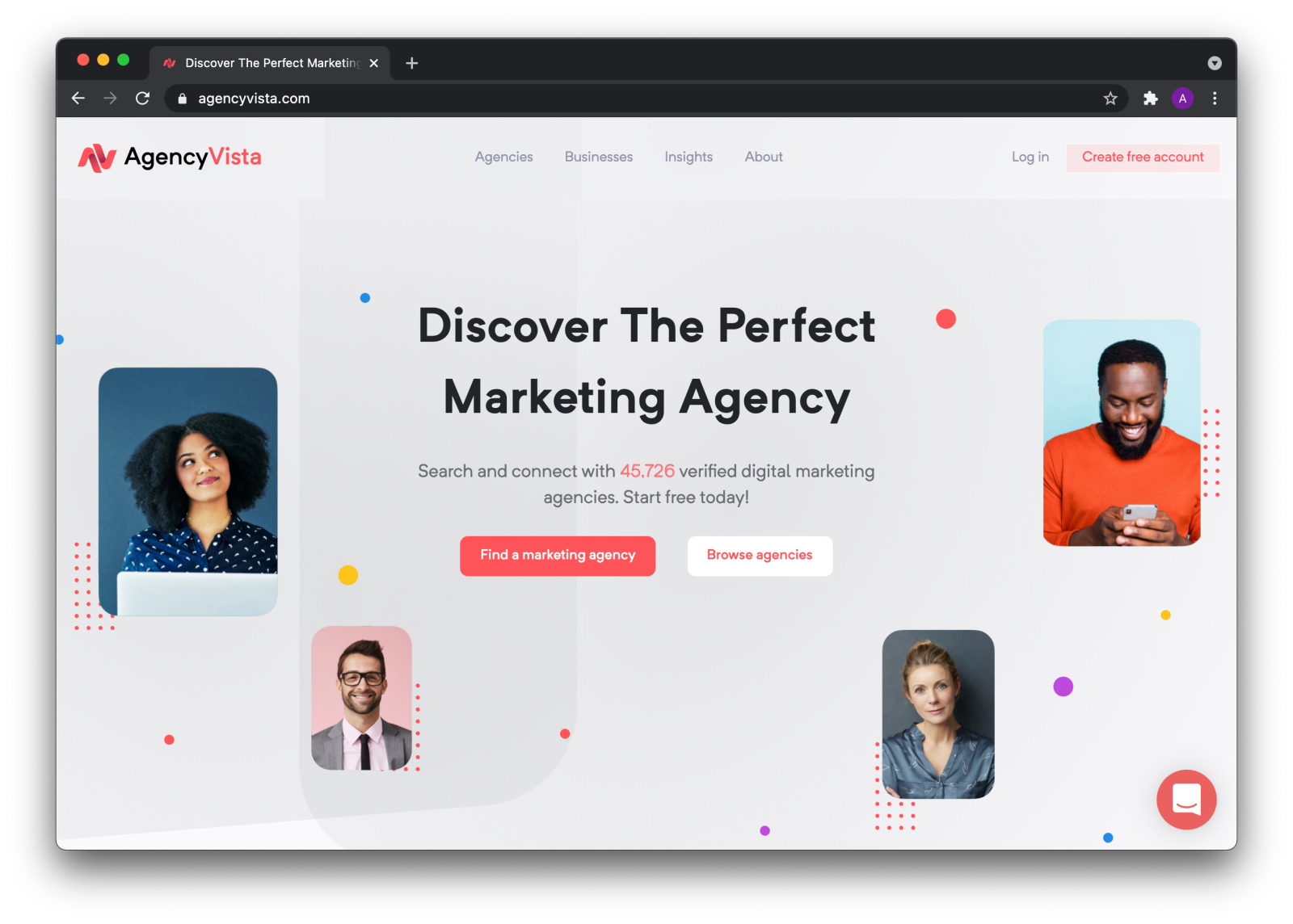 Agency Vista - Get clients for your digital marketing agency