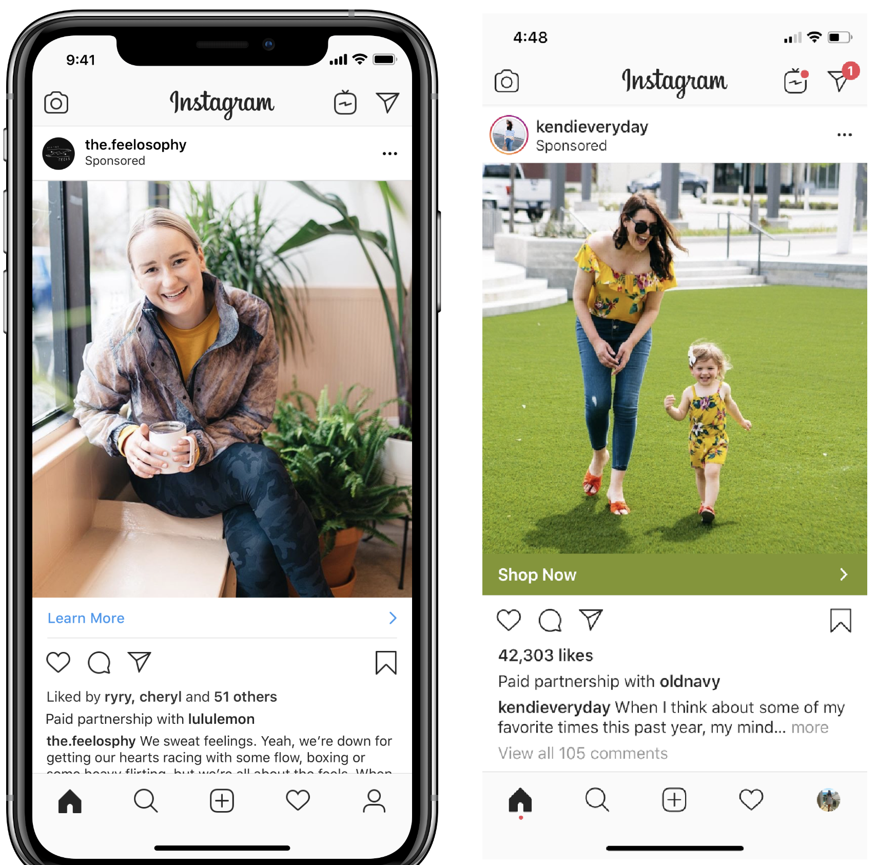 Instagram Feature: Branded Content Tags