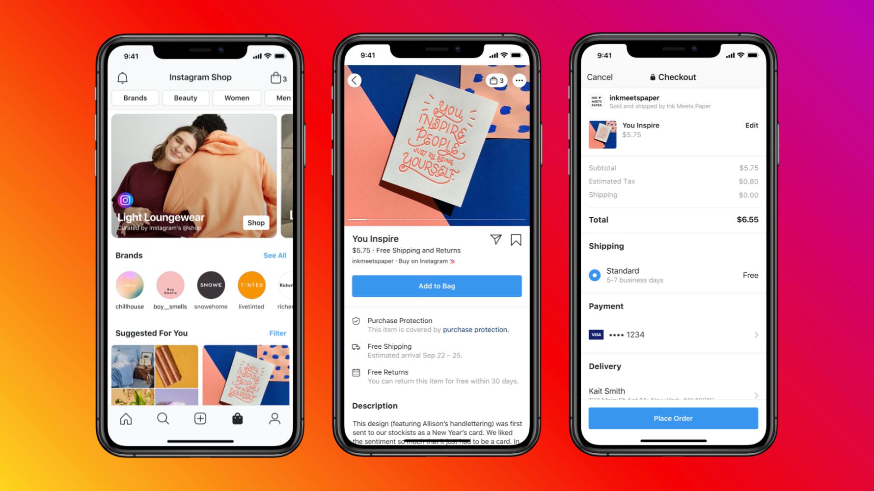 Instagram Feature: Instagram Shops