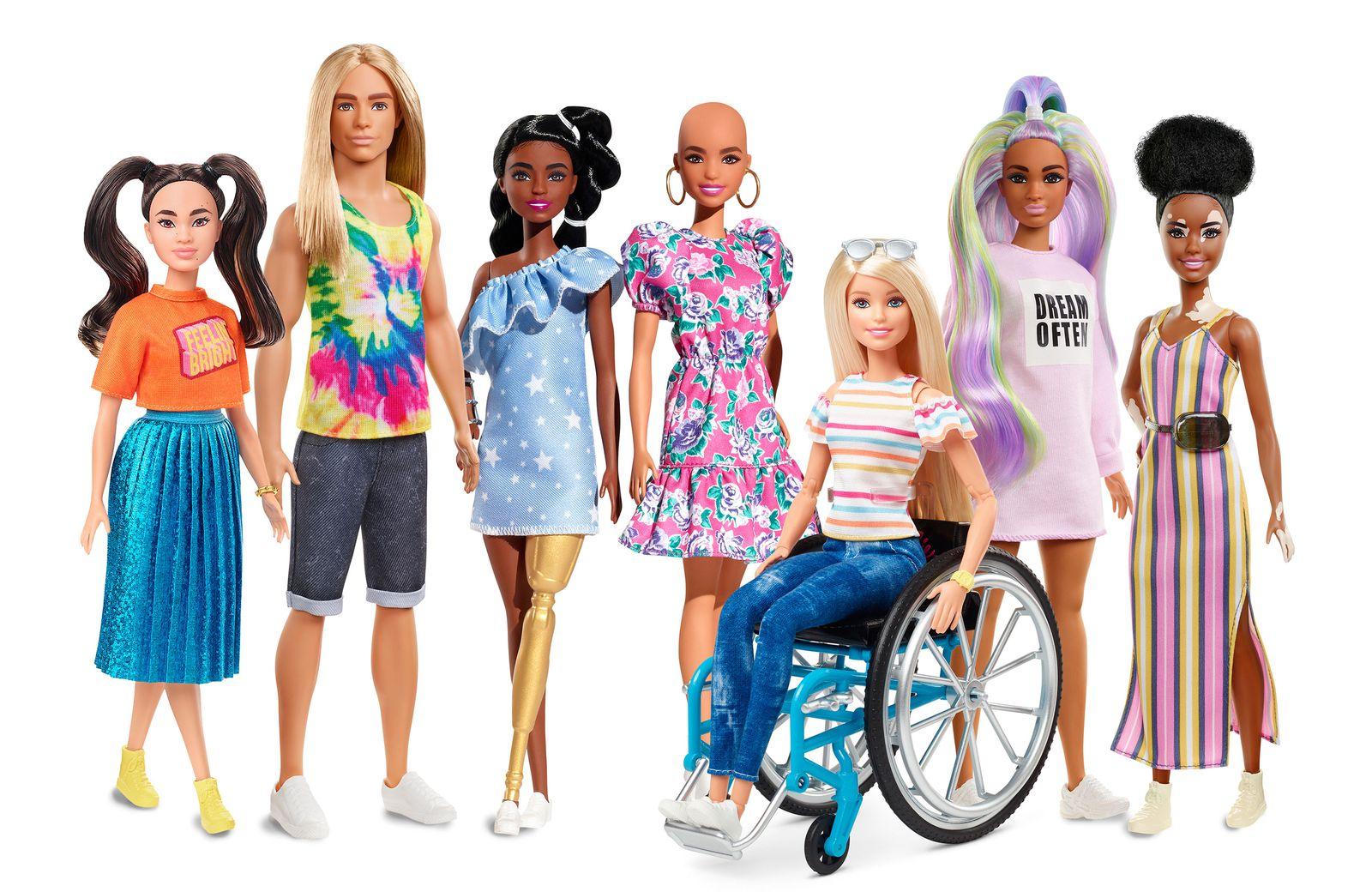 Diverse Barbie's