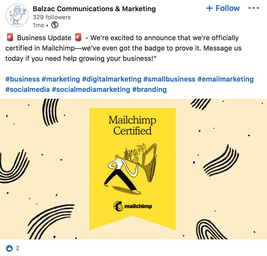 Balzac Communications & Marketing | LinkedIn