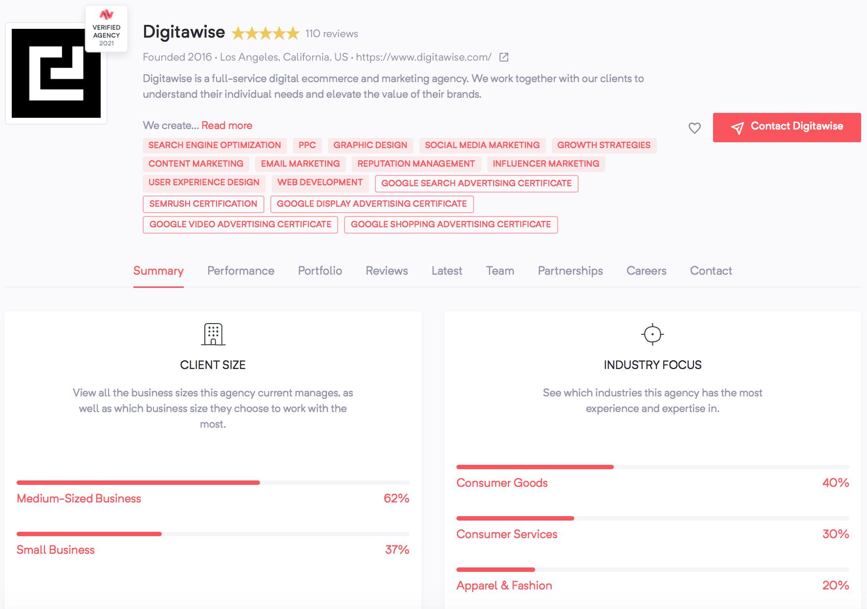 Digitawise | Agency Vista