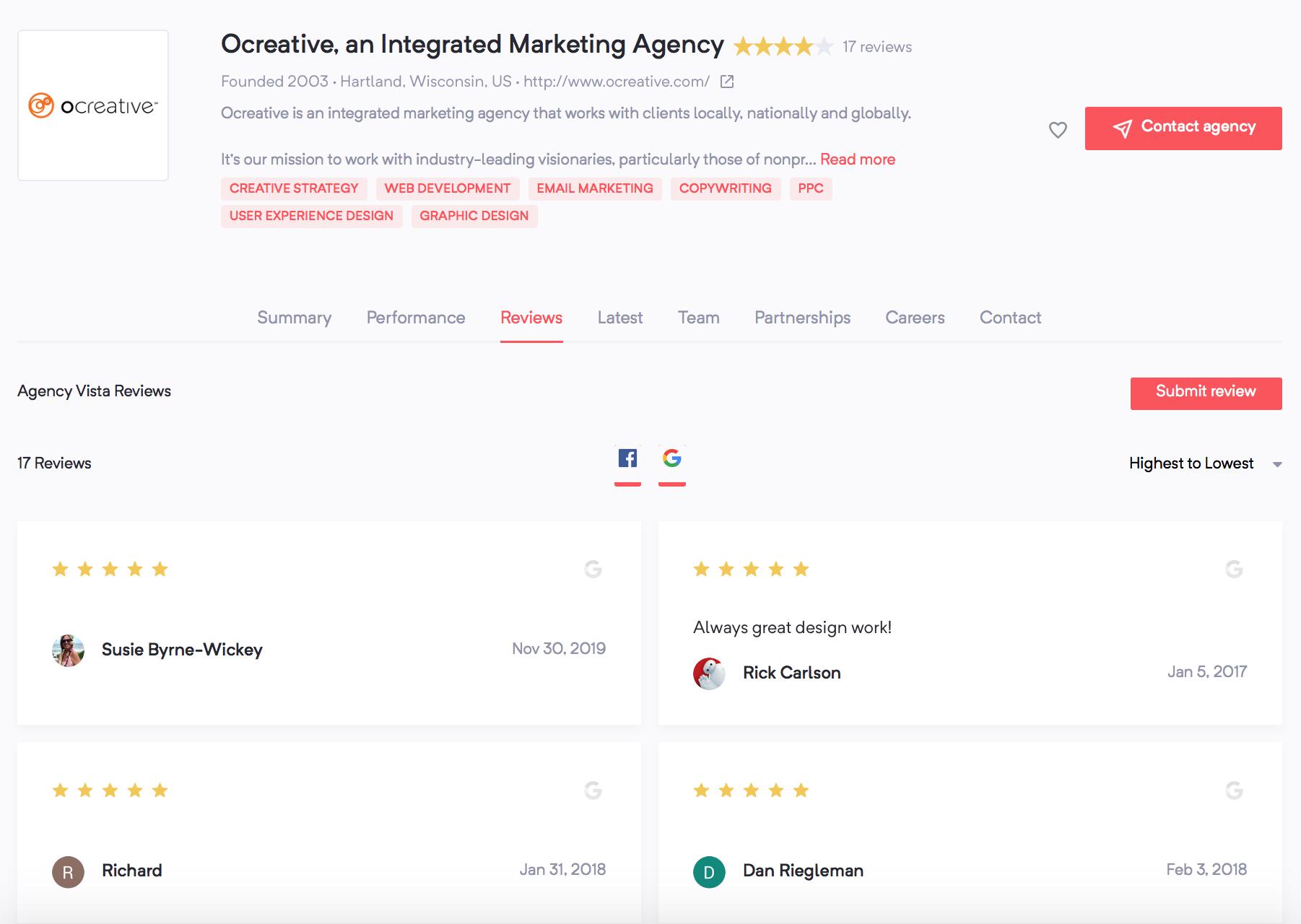 Women-Owned Agencies | Creative | Agency Vista