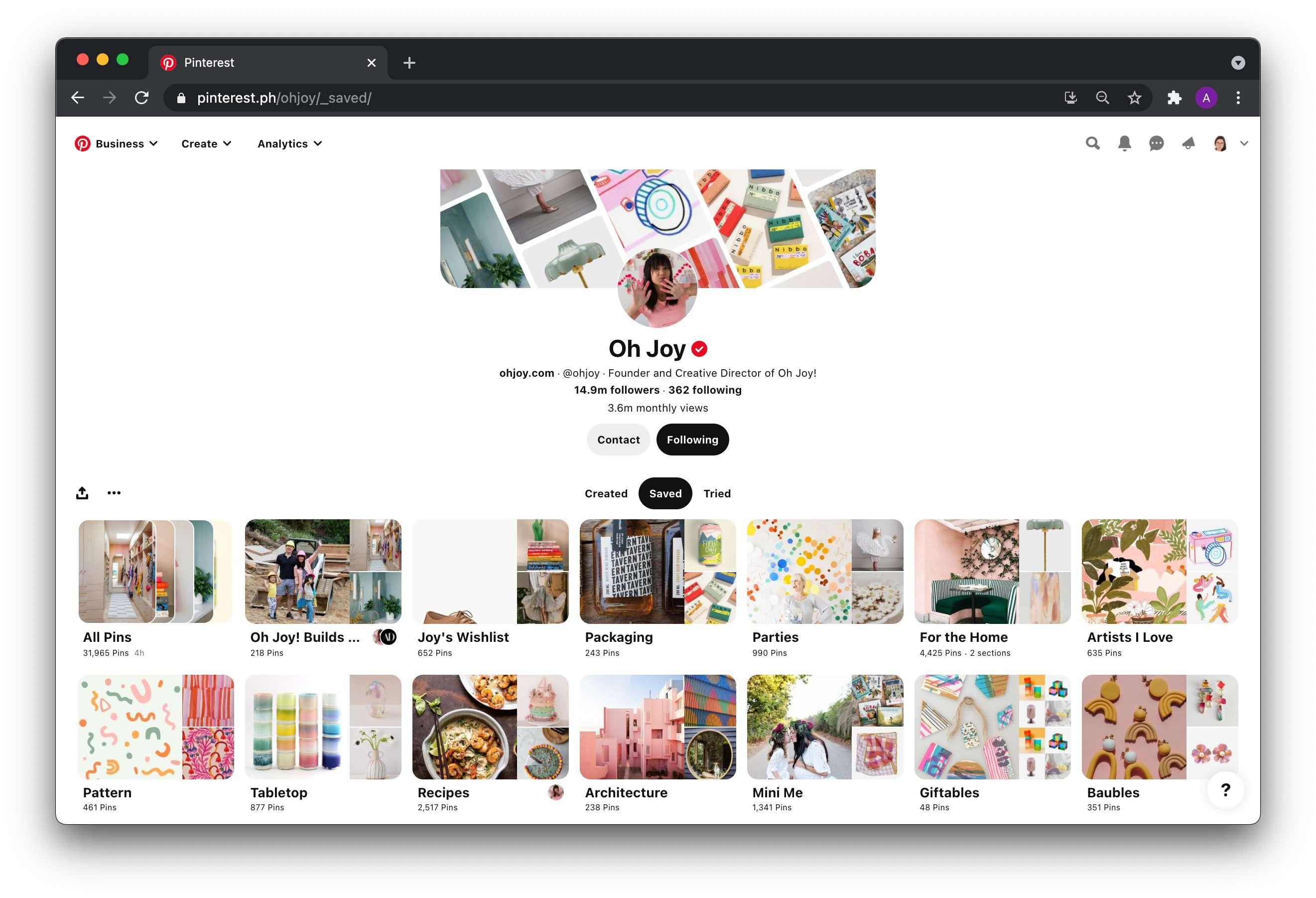 Pinterest for Business   Agency Vista