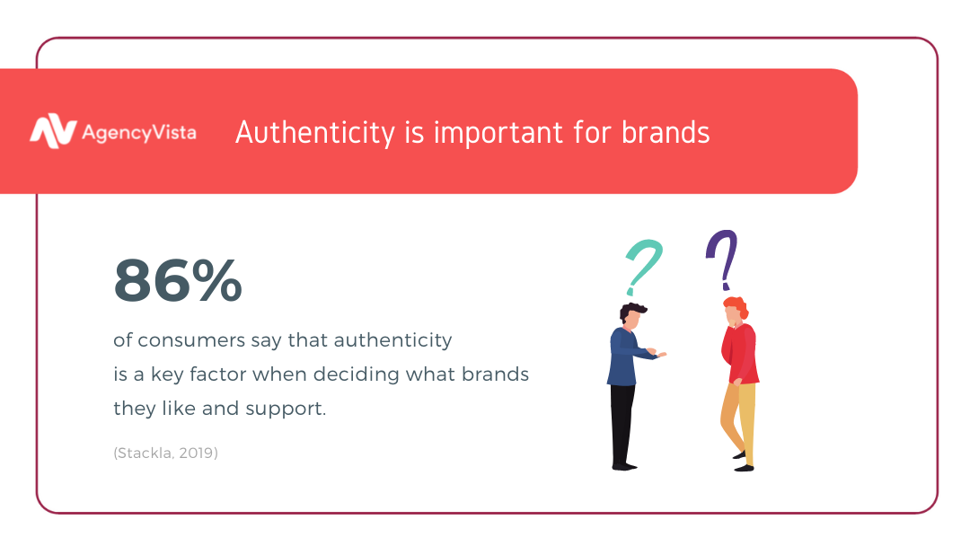 Agency Vista | Authenticity for brands