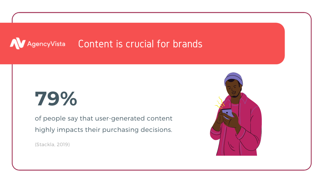 Agency Vista | User-generated content