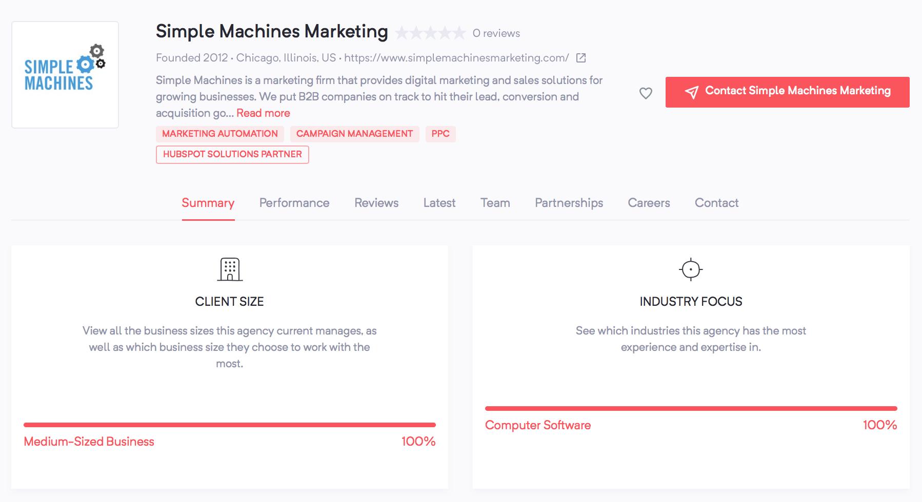 LGBTQ-owned marketing agencies | Simple Machines Marketing | Agency Vista
