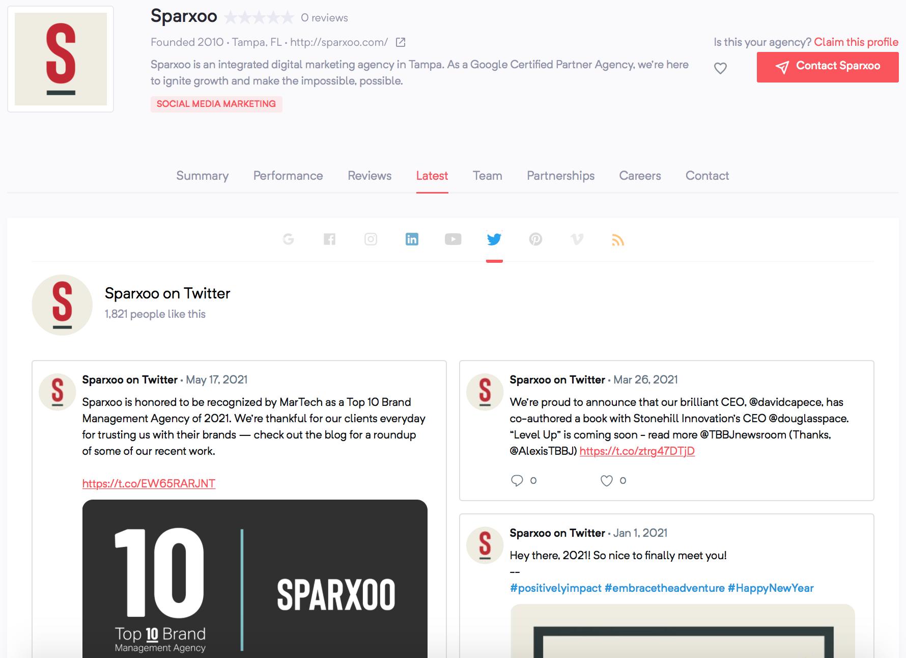 Sparxoo | Agency Vista
