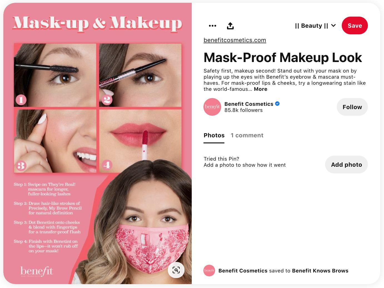 Brands on Pinterest | Benefit Cosmetics