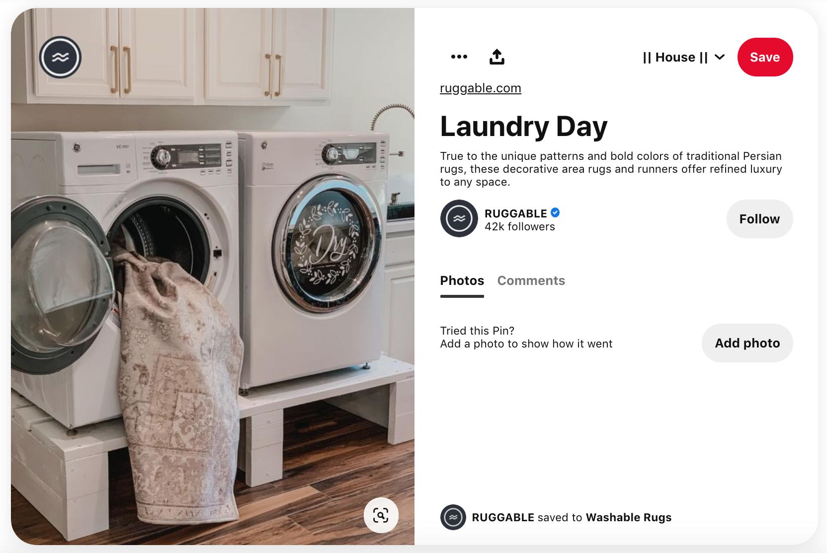Brands on Pinterest | Ruggable
