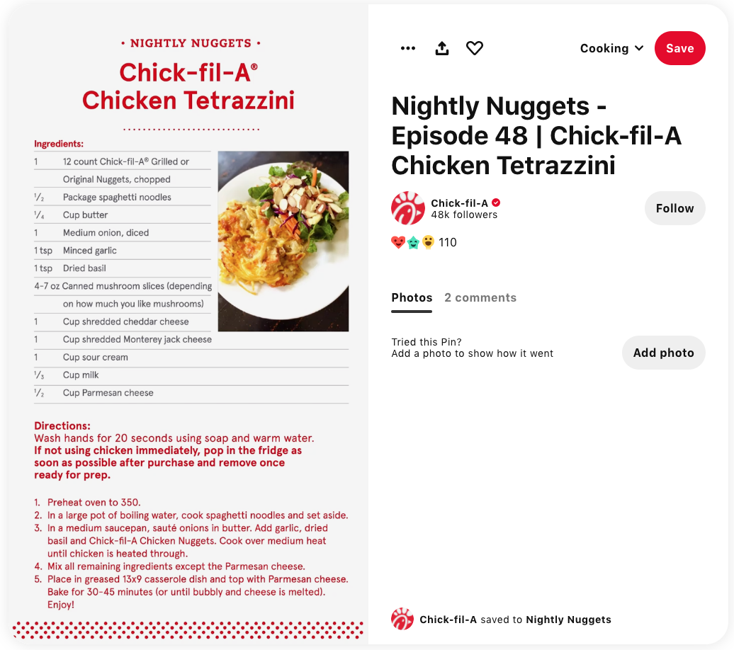 How-To Content and Tutorial Videos: Chick-fil-A