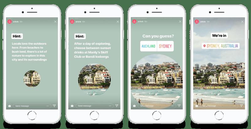 Instagram Stories   Airbnb   Agency Vista