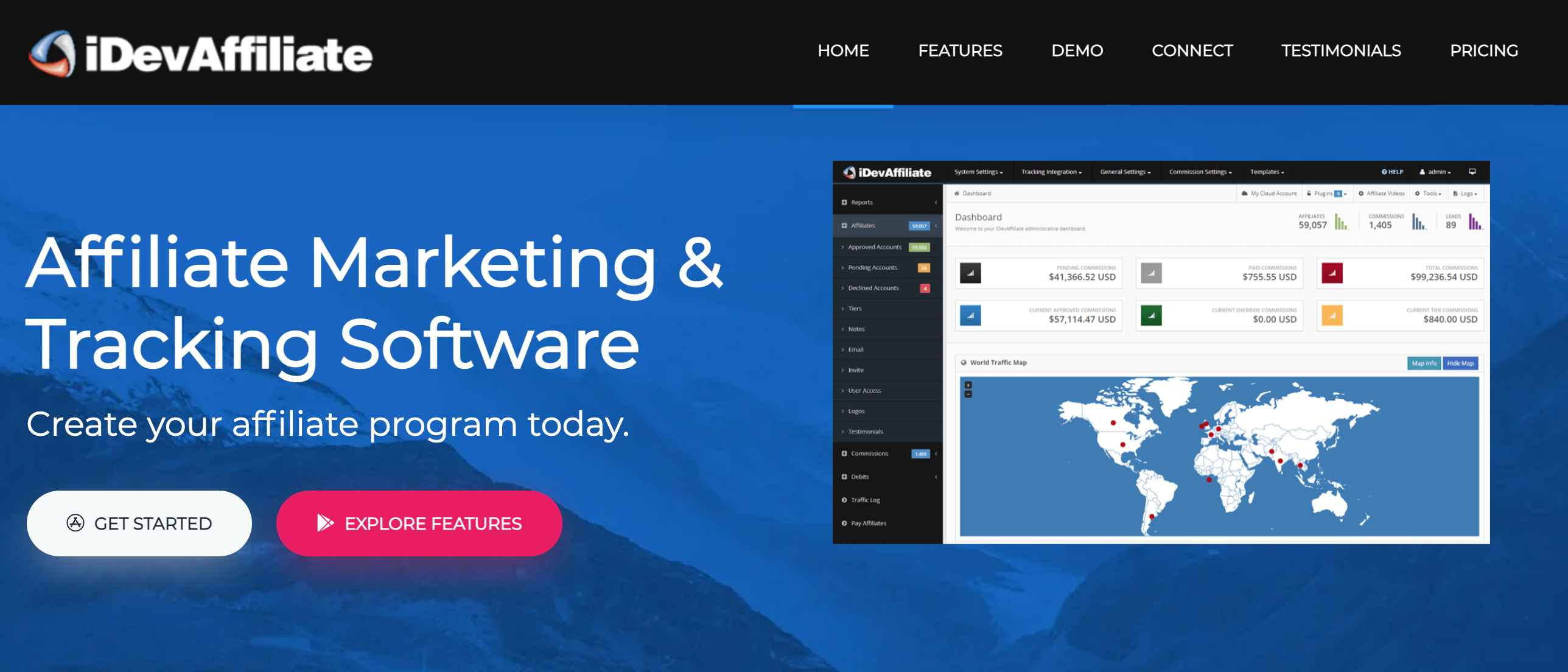 Marketing Software: iDevAffiliate