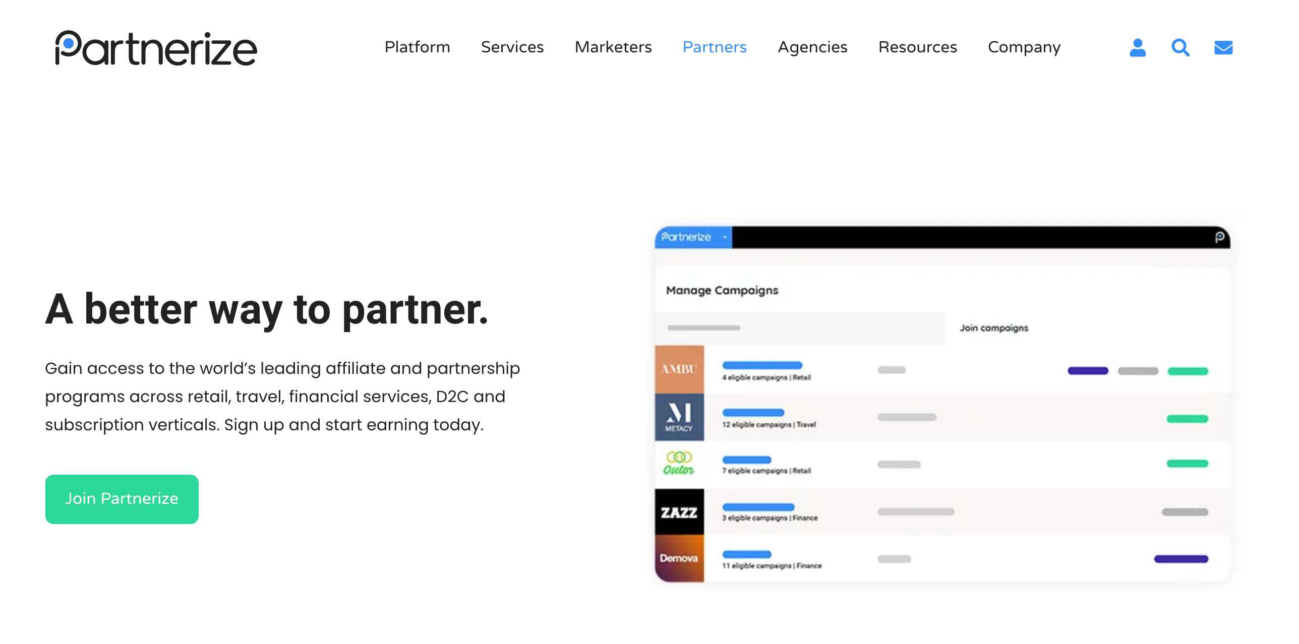 Marketing Software: Partnerize