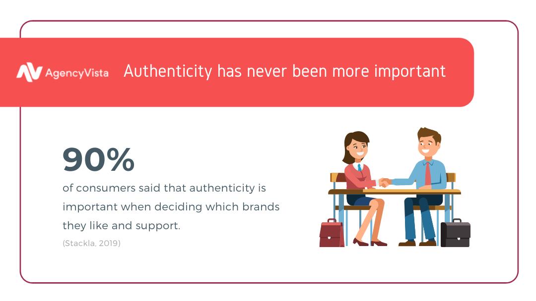 Digital Authenticity | Stackla 2019 | Agency Vista