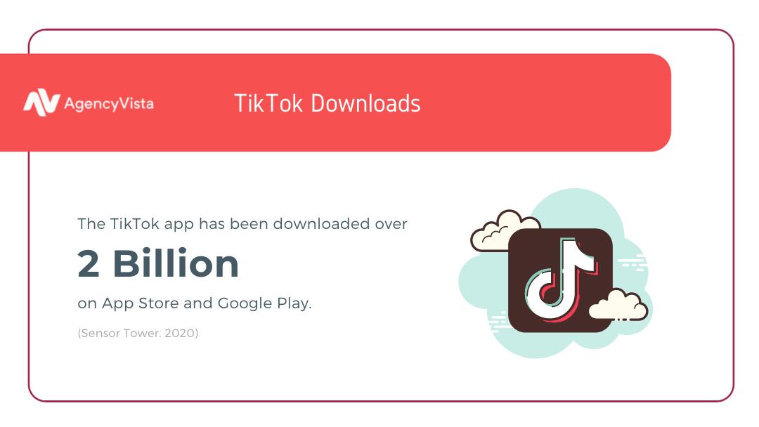 Get followers on Tiktok - App Downloads - Agency Vista