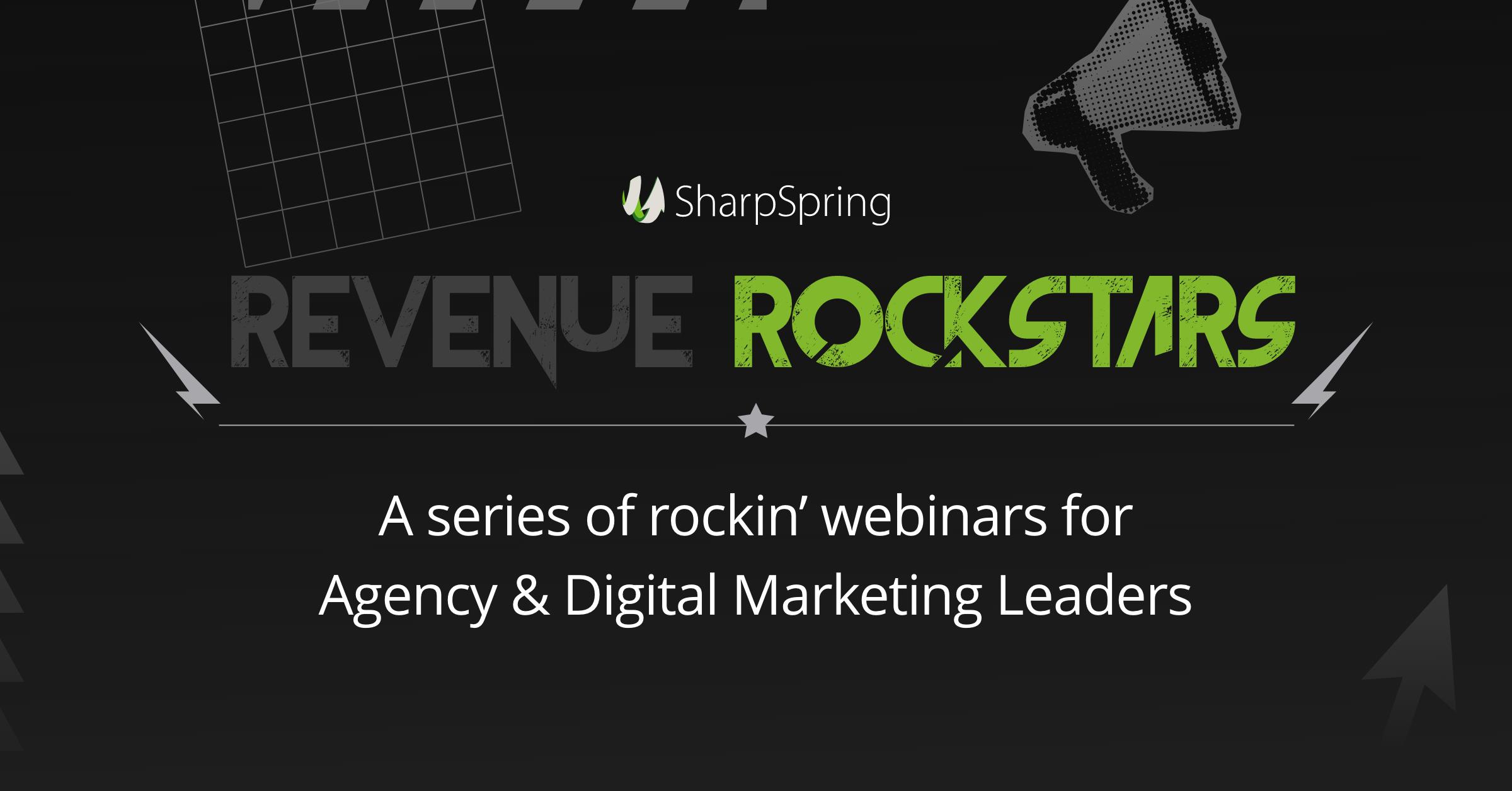 SharpSpring | RevenueRockstar's | Agency Vista