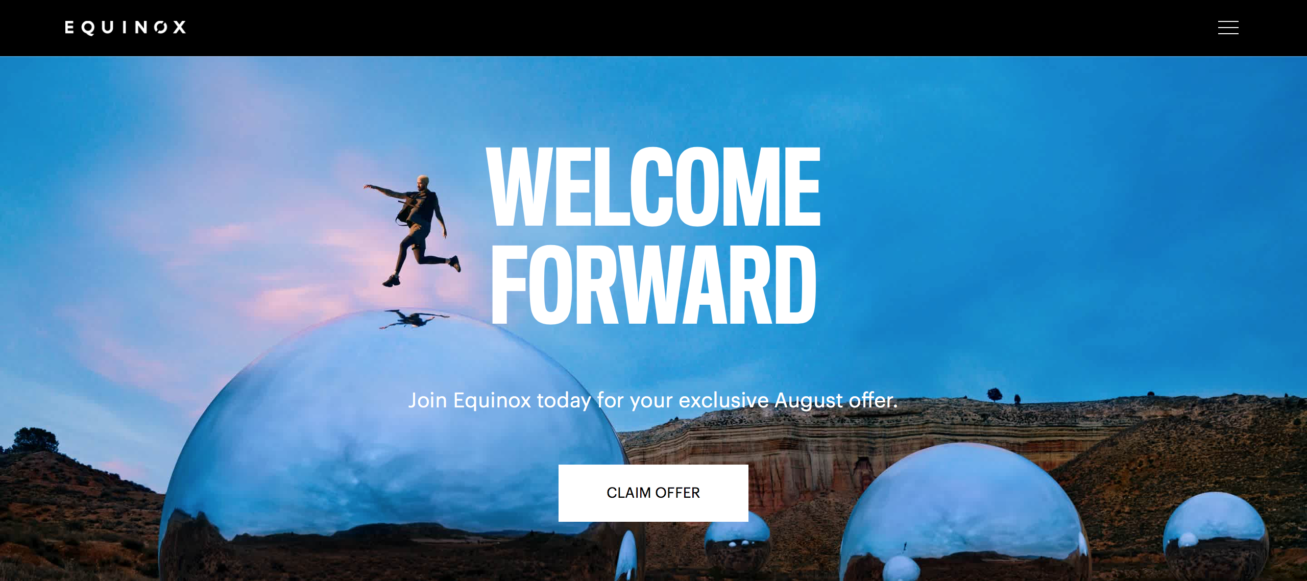 digital marketing call-to-action | Equinox | Agency Vista