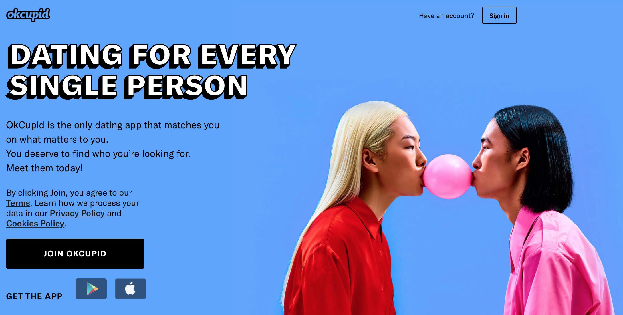 OkCupid | Agency Vista