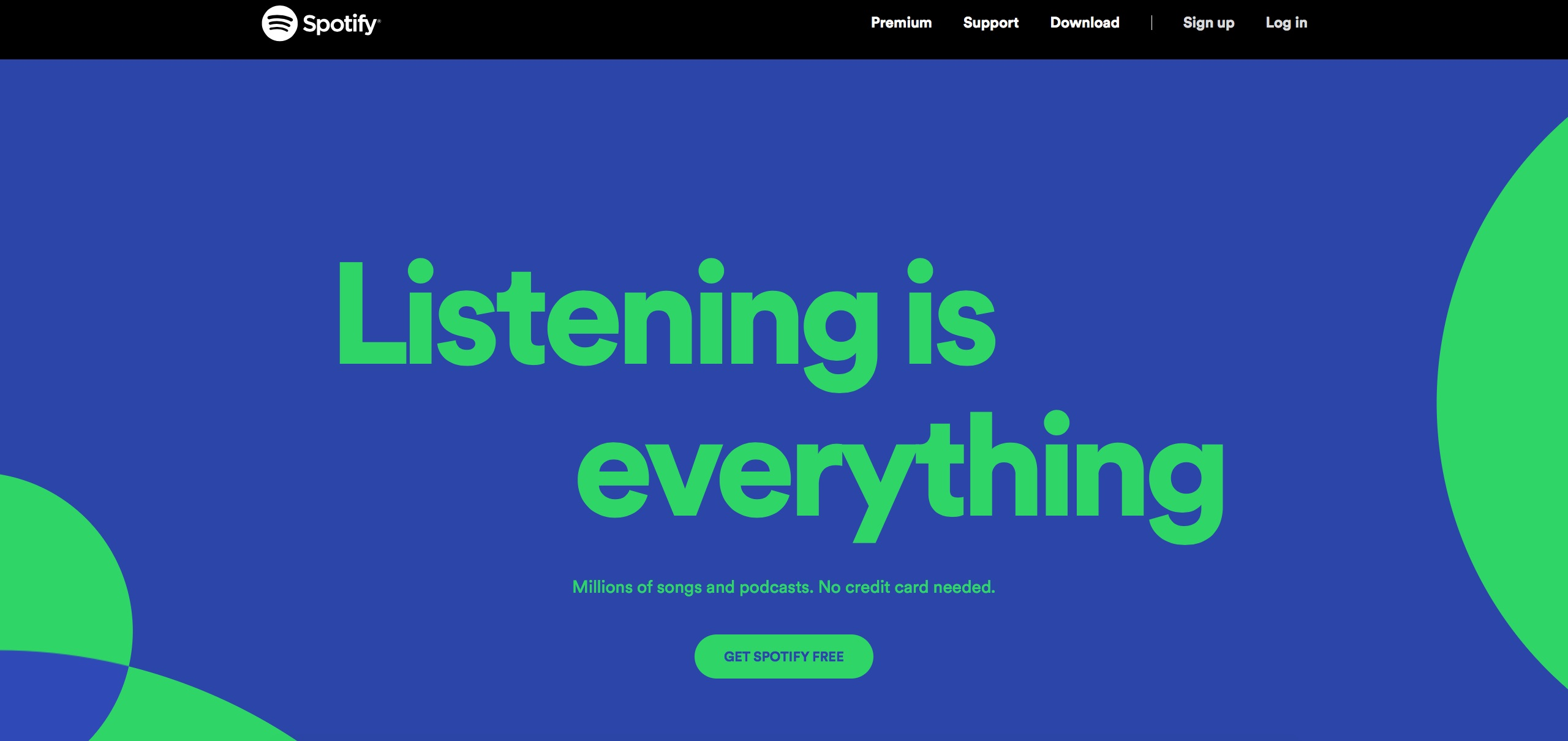 digital marketing call-to-action | Spotify | Agency Vista
