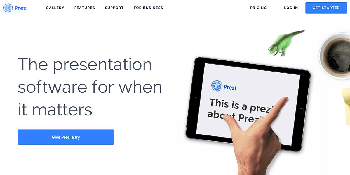digital marketing call-to-action | Prezi | Agency Vista