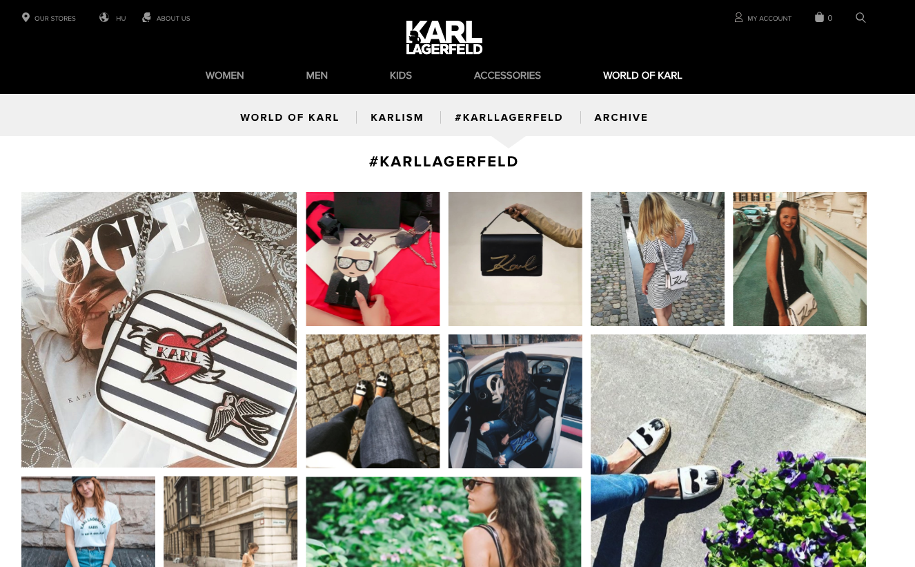 UGC - Karl Lagerfeld - Agency Vista