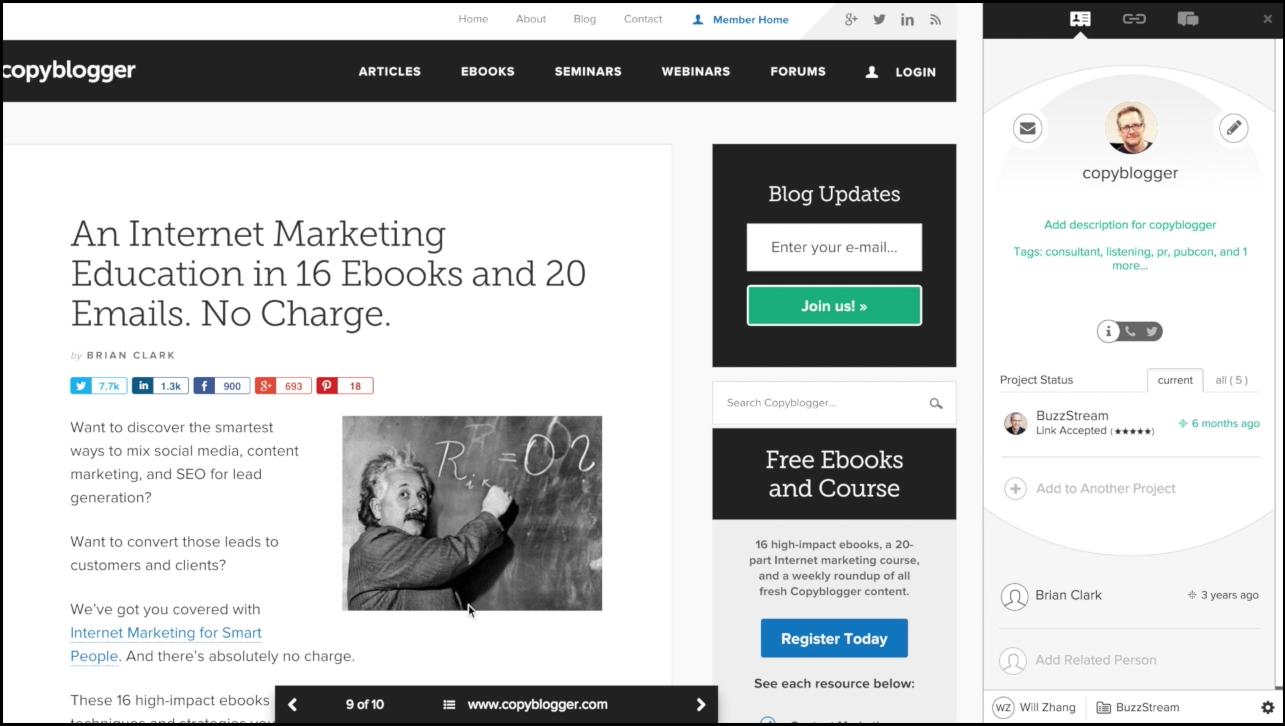 Buzzstream | Agency Vista