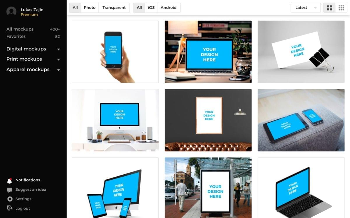 Social Media Mockup | Smart Mockups