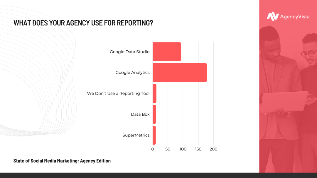 Agency Vista Report | Software Used for Reporting