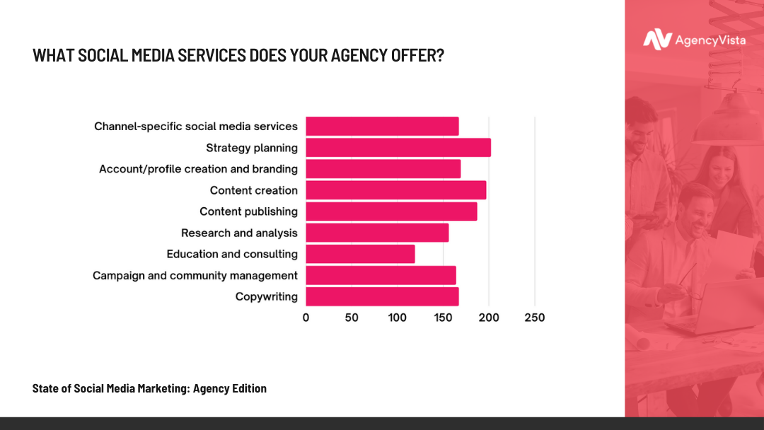 Agency Vista Report | Agency Services Offered Stat