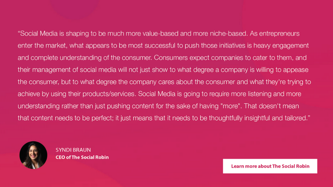 The Social Robin | Agency Vista
