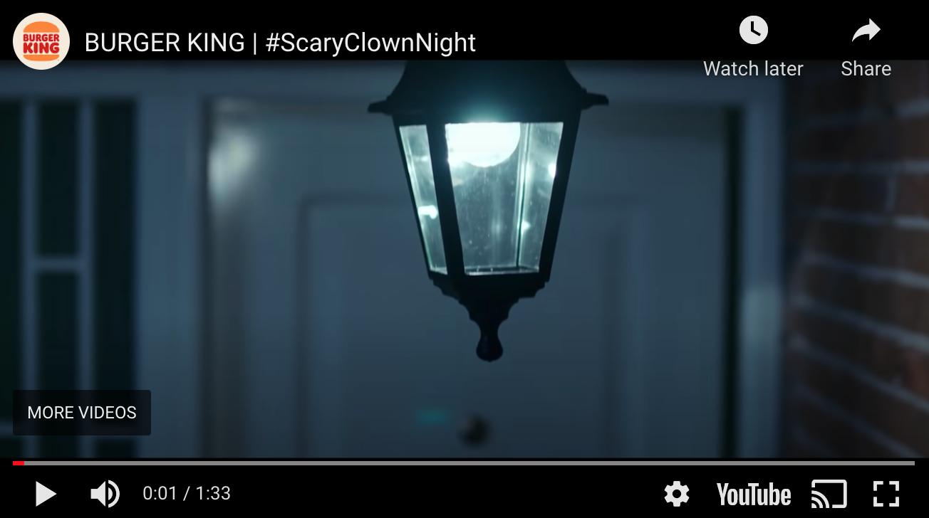 Halloween Social Media Campaign | Burger King: #ScaryClownNight | Agency Vista
