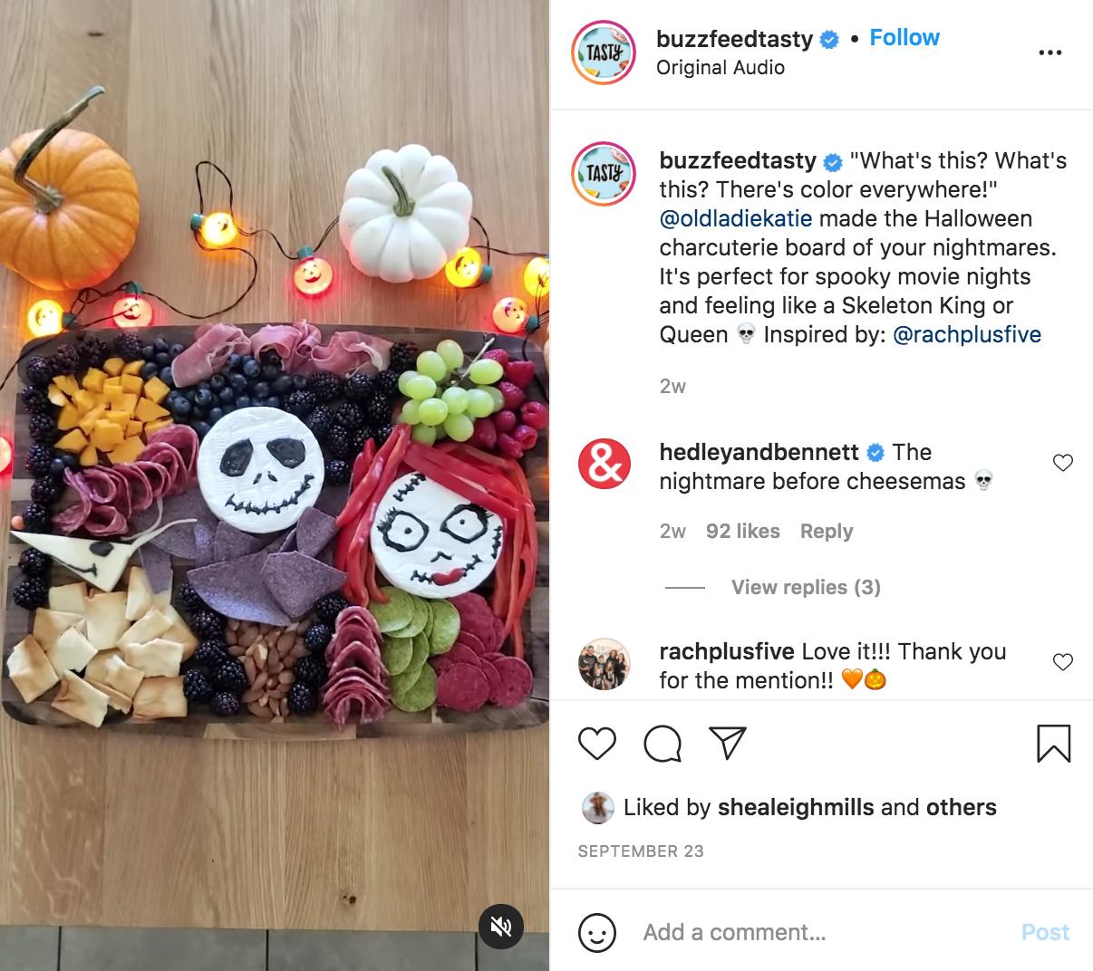 Halloween Social Media Campaign | Buzzfeed Tasty | Agency Vista