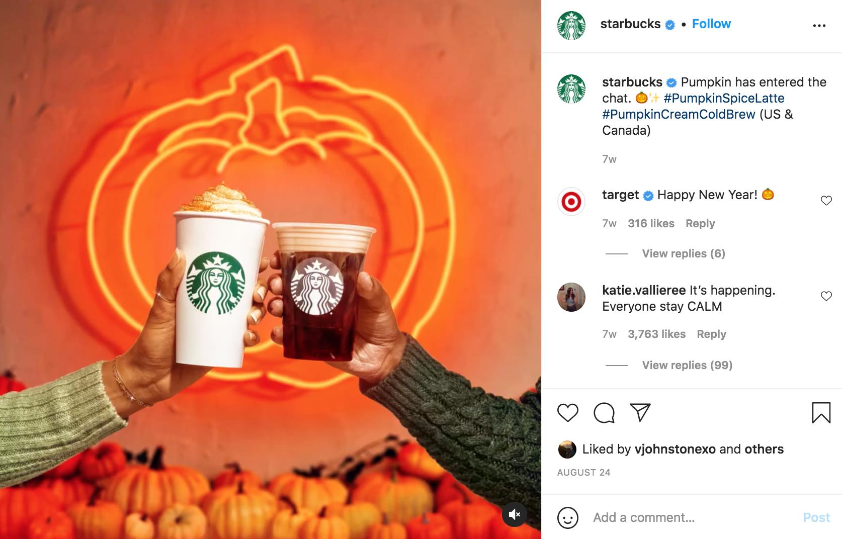 Starbucks Halloween Limited Series Product | Agency Vista